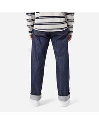 Levi's Blue Levis Vintage 1937 501 Rigid Jeans for men