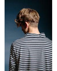 Nanamica - Coolmax® Longsleeve High Neck Heather Gray Black for Men - Lyst