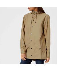 Rains Brown Jacket