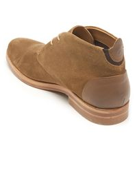 H by Hudson   Brown Men's Matteo Suede Chukka Boots for Men   Lyst