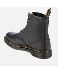 Dr. Martens Black Carpathian Leather 8-eye Boots for men