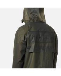 Hunter - Green Original Vinyl Windcheater Jacket for Men - Lyst