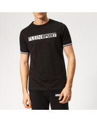 Philipp Plein Black Statement T-shirt for men