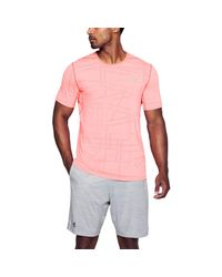 Under Armour - Red Threadborne Elite T-shirt for Men - Lyst