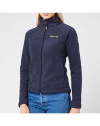 Superdry Blue Storm Urban Fleece Jacket