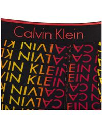 Calvin Klein - Black Ck One Cotton 2 Pack Trunks for Men - Lyst