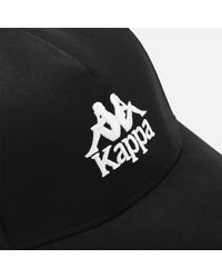 Kappa Black Authentic Vigoleno Cap for men