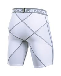 Under Armour - White Core Shorts for Men - Lyst