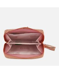 Ted Baker - Multicolor Tassel Leather Small Purse - Lyst