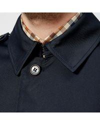 Aquascutum - Blue Camber Lightweight Sb Trench Coat for Men - Lyst