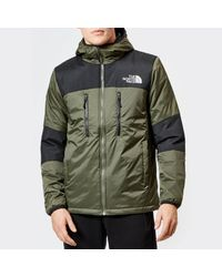 The North Face Green Himalayan Light Synthetic Hoodie for men