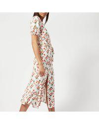 Bec & Bridge - White Orangina Midi Dress - Lyst