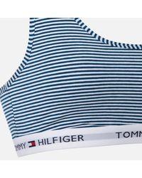 Tommy Hilfiger Blue Striped Bralette