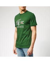 Lacoste Green Large Logo T-shirt for men