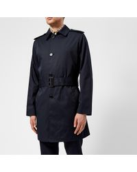 Aquascutum - Blue Camber Lightweight Sb Trench Coat for Men - Lyst