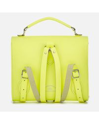 Cambridge Satchel Company - Yellow Barrel Backpack - Lyst