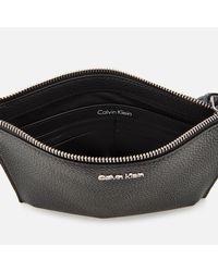 Calvin Klein Black Edit Pouch Bag