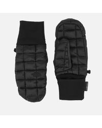 The North Face Black Thermoball Mittens for men
