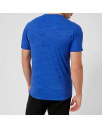 Reebok Blue Activchill Move Short Sleeve T-shirt for men