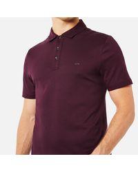 Michael Kors - Purple Sleek Mk Polo Shirt for Men - Lyst