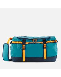 The North Face Blue Base Camp Small Duffel Bag for men
