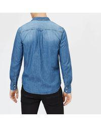 Superdry Blue Resurrection Shirt for men