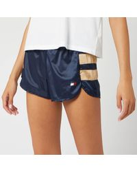 "Tommy Hilfiger Blue Woven 3"" Shorts"