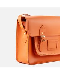 Cambridge Satchel Company - Orange 15 Inch Satchel - Lyst