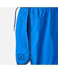 Adidas Blue Split Shorts for men