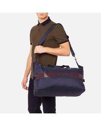 BOSS Green Blue Pixel Holdall Bag for men