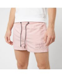 Superdry Pink Sorrento Pastel Swim Shorts for men
