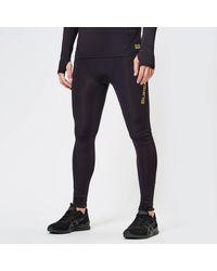Superdry Black Performance Compression Leggings for men