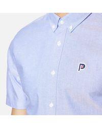 Penfield Blue Men's Danube Short Sleeve Shirt for men