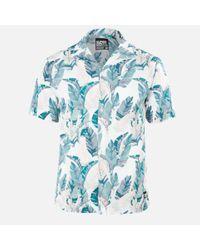 Superdry White Hawaiian Box Shirt for men