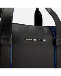 Tommy Hilfiger - Black Pop Stripe Computer Bag for Men - Lyst