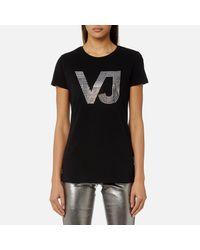 Versace Jeans Black Logo T-shirt