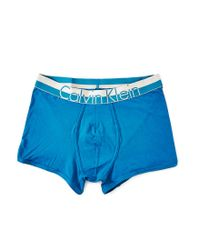 Calvin Klein - Underwear Magnetic Cotton Trunk Blue for Men - Lyst