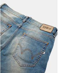 Edwin - Blue Horn Rv Selvedge Jeans for Men - Lyst