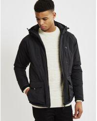 Fat Moose | Buffalo Plains Jacket Black for Men | Lyst