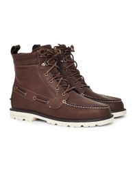 Sperry Top-Sider   A/o Lug Leather W/p Boot Brown for Men   Lyst
