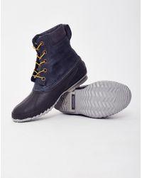 Sorel   Gray Cheyanne Lace Full Grain Boot Grey for Men   Lyst