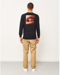 Huf - X Penthouse Lips Long Sleeve T-shirt Black for Men - Lyst