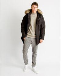 SELECTED - Black Cole Parka Jacket for Men - Lyst