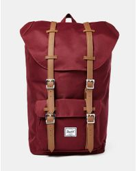 Herschel Supply Co. - Purple Little America Backpack Burgundy for Men - Lyst