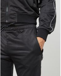 The Idle Man - Track Pants Black for Men - Lyst