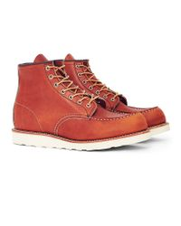 Red Wing - Multicolor Heritage 6-inch Classic Moc Toe Leather Tan for Men - Lyst