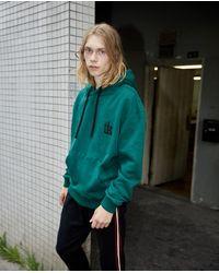 Sudadera verde de muletón con capucha The Kooples de hombre de color Green