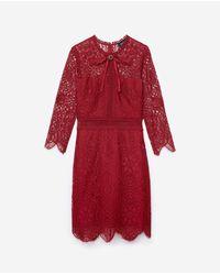 Dress The Kooples de color Red