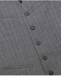 The Kooples Grey Suit Vest in het Gray voor heren
