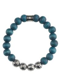 Icon Brand - Blue Bracelet Down Like This - Lyst